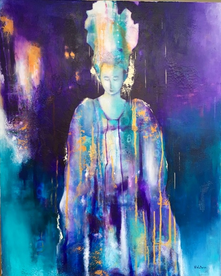 The Empress, 90 x 70 cm